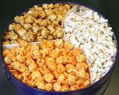 Clary's Old Fashioned Gourmet Popcorn - Two Gallon Tin 3 Way Popcorn - Madison, WI