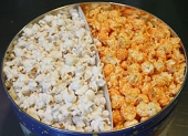 Clary's Old Fashioned Gourmet Popcorn - Six and One-Half Gallon Tin 2 Way Popcorn - Madison, WI